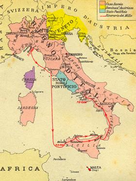 Cartina Italia Unita 1861.L Unita D Italia Tesori D Italia Bolaffi