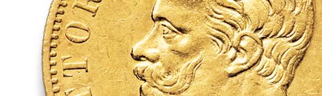 Vittorio Emanuele II – 20 lire 1861-1878