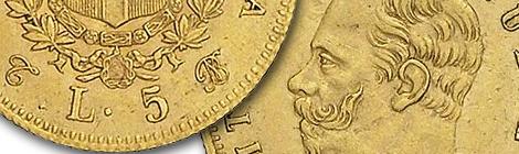 Vittorio Emanuele II – 5 lire 1863