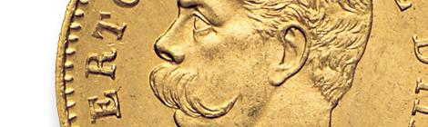 Umberto I - 20 lire 1879-1897